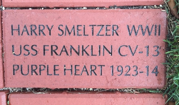 Harry Smeltzer Brick USS Franklin Memorial Stuart Florida