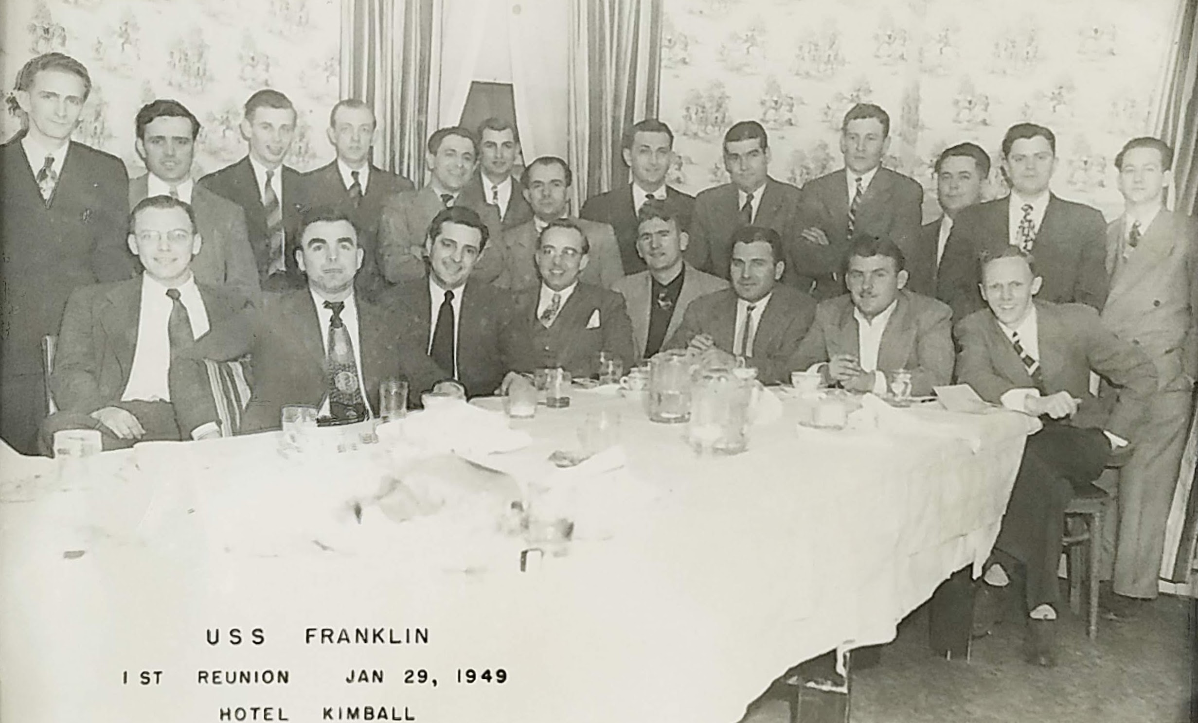 USS Franklin 1949 Reunion